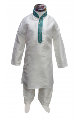 Boys Silk Kurta Set -847