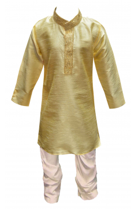 Gold Boys Kurta 872