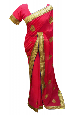 Chiffon Saree - 7223