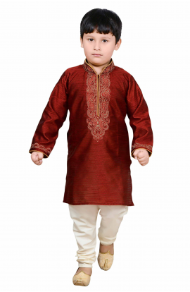Maroon Sherwani -904