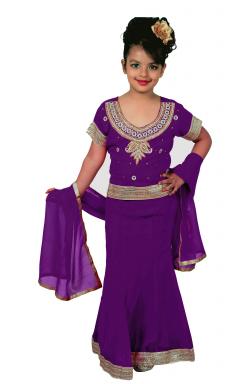 Purple Lehenga - 1145