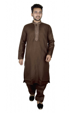 Cotton Men Kurta - 819