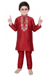 Red Boys Sherwani - 924