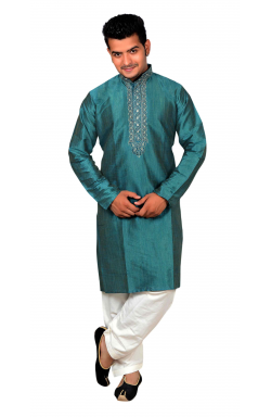 Teal kurta Shalwar- 745