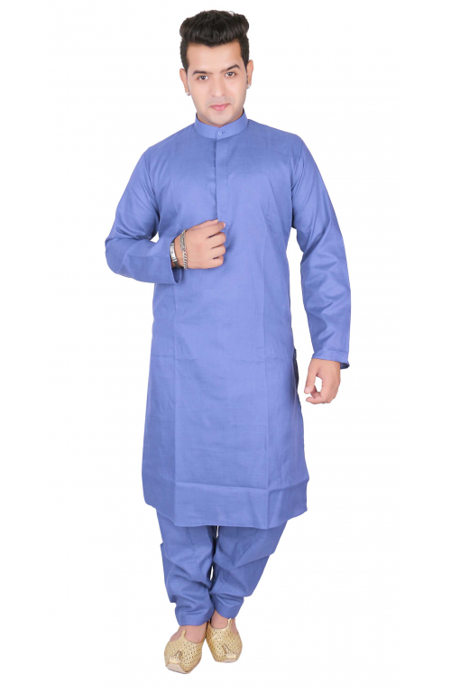 Plain Kurta Set-1802